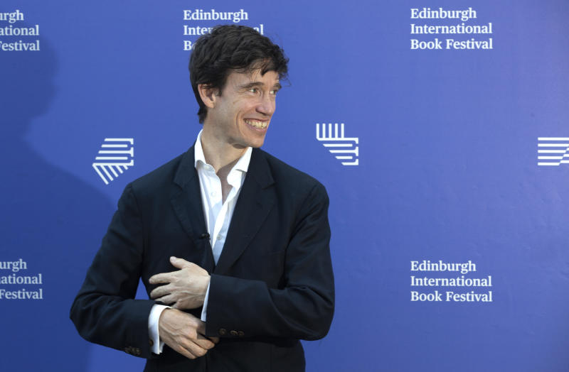 Conservative MP Rory Stewart before his discussion event 'Lessons from Literature for Today's Politics' at the 2019 Edinburgh International Book Festival, Edinburgh.