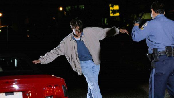 PHOTO: In this undated file photo, a sobriety test is being given. (Doug Menuez/Forrester Images via Getty Images, FILE)