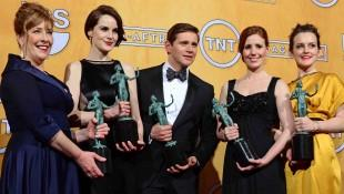 SAG Awards TV: 'Downton Abbey', 'Modern Family' Top Field Of Fresh Drama, Returning Comedy Winners, Alec Baldwin Completes '30 Rock' Sweep