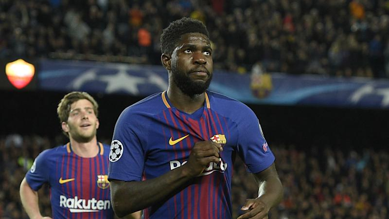 'His bank manager must be happy!' - Deschamps pleased to see Umtiti sign new Barca deal