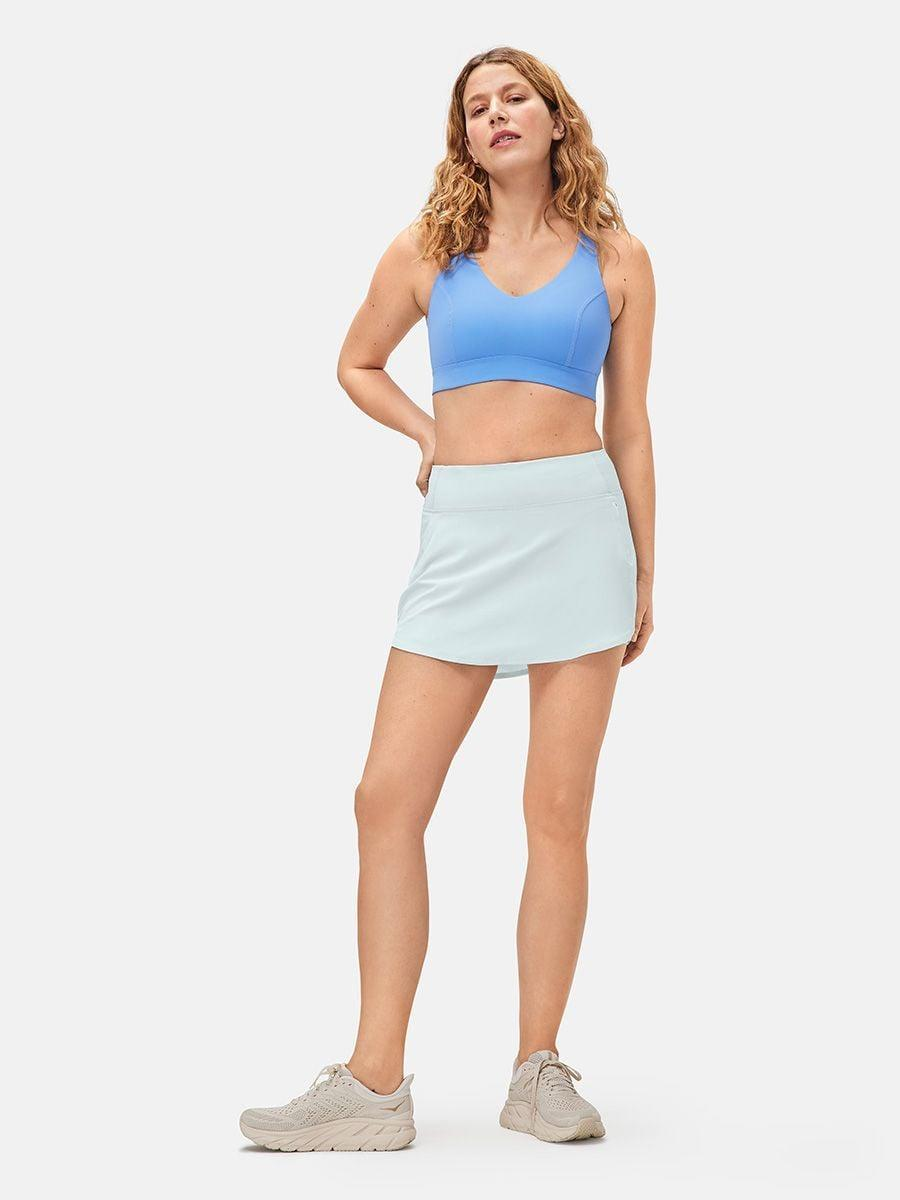 """<p>This essential <span>Outdoor Voices Hudson 4"""" Skort</span> ($58) comes in a bunch of different colors, but we love the light blue.</p>"""