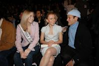 <p>Hey look! It's Miss Teen USA, Tami Farrell, figure skater, Oksana Baiul and stylist Philip Bloch. <i>(Bryan Bedder/Getty Images)</i></p>