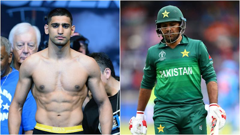 Amir Khan offers fitness and diet tips to Pakistan cricket team