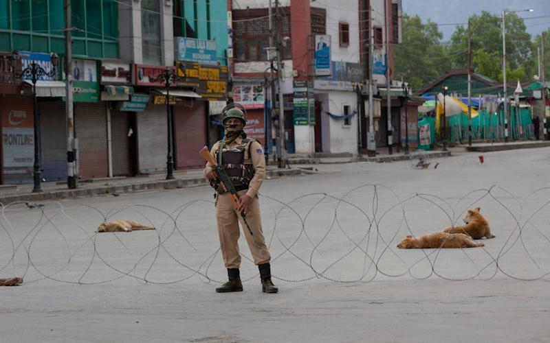 Conflict has raged in Kashmir between Indian Army soldiers and militants fighting for independence - Dar Yasin/AP