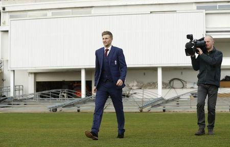 Britain Cricket - England - Joe Root Press Conference - Headingley - 15/2/17 England's Joe Root ahead of the press conference Action Images via Reuters / Lee Smith Livepic