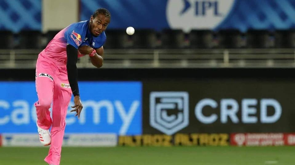 Finger injury rules Jofra Archer out of IPL 2021