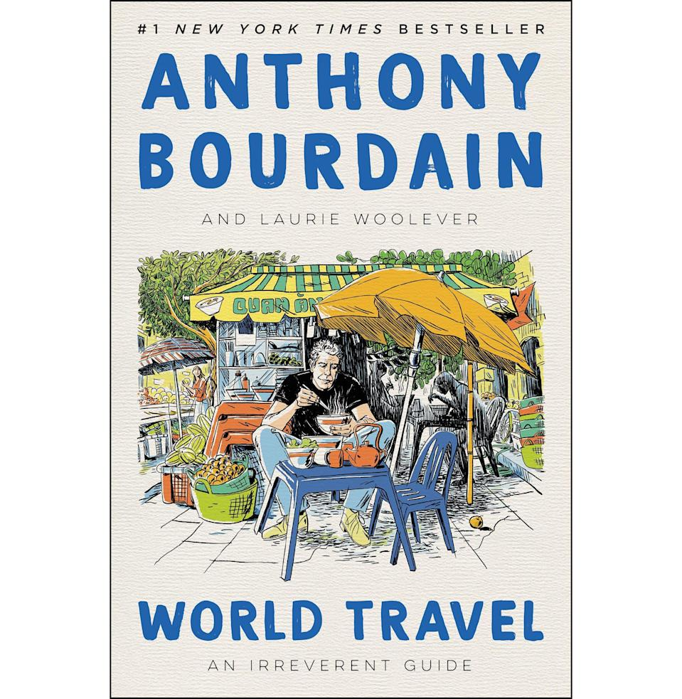 """<p><strong>By Anthony Bourdain</strong></p><p>amazon.com</p><p><strong>$21.00</strong></p><p><a href=""""https://www.amazon.com/dp/0062802798?tag=syn-yahoo-20&ascsubtag=%5Bartid%7C10054.g.19735637%5Bsrc%7Cyahoo-us"""" rel=""""nofollow noopener"""" target=""""_blank"""" data-ylk=""""slk:Buy"""" class=""""link rapid-noclick-resp"""">Buy</a></p><p>For the dad who never missed an episode of <em>Parts Unknown</em>.</p>"""