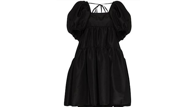 Cecilie Bahnsen Ronja puff-sleeve tiered dress