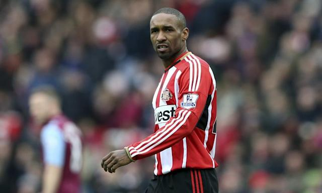 """<span class=""""element-image__caption"""">Though eyebrows were raised when Jermain Defoe returned from MLS to a lucrative contract at Sunderland, his finishing remains lethal and he deserves his recall.</span> <span class=""""element-image__credit"""">Photograph: Scott Heppell/AP</span>"""
