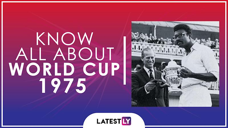 Know All About 1975 Cricket World Cup: History, Participants and Winner of the Inaugural Edition of World Cup