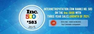 InternetReputation.com Recognized by Inc. as Top Growing Company