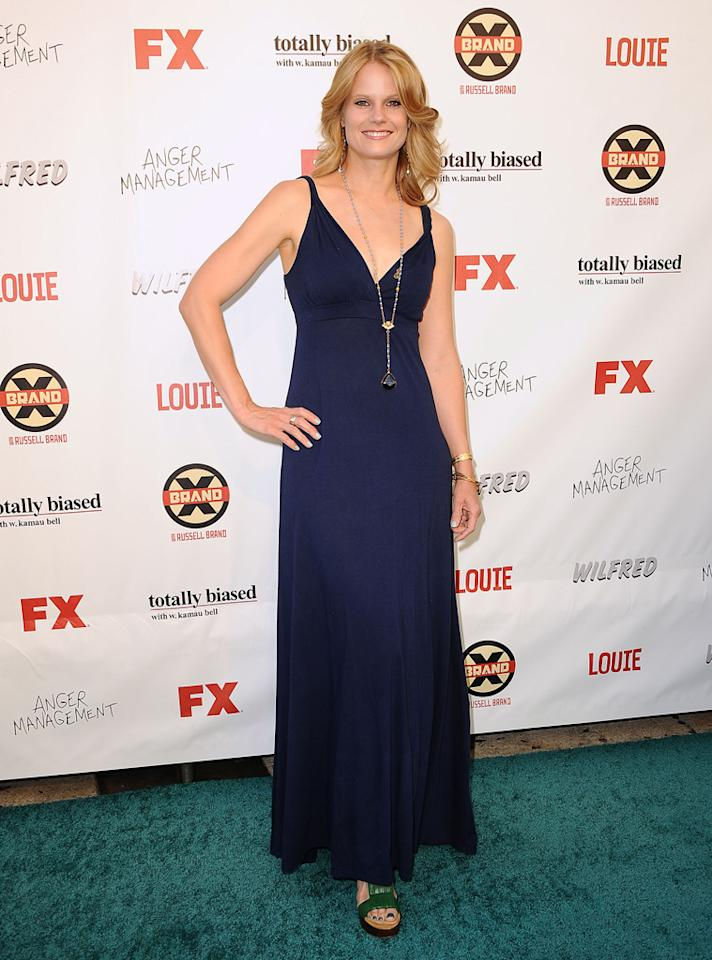 Joelle Carter attends the FX Summer Comedies Party at Lure on June 26, 2012 in Hollywood, California.
