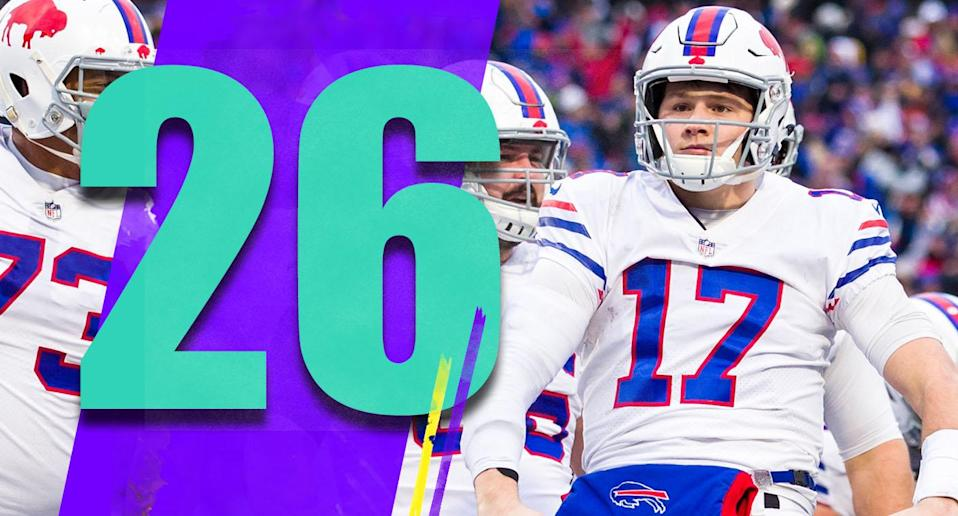 <p>Josh Allen continues to show why the Bills drafted him in the top 10. He had 99 yards rushing and made some huge plays with his legs. He continues to make plays with his arm too, though consistency hasn't arrived yet. (Josh Allen) </p>