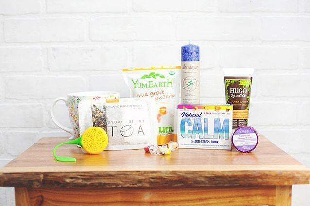 """<p><strong>Every day that a calmbox arrives is instantly uplifted!</strong></p><p>thecalmbox.com</p><p><strong>$29.99</strong></p><p><a href=""""https://thecalmbox.com/checkout"""" rel=""""nofollow noopener"""" target=""""_blank"""" data-ylk=""""slk:Shop Now"""" class=""""link rapid-noclick-resp"""">Shop Now</a></p><p>The Calm Box centers around a theme each month with an intended purpose: to make you more mindful. In the box, you get an assortment of snacks, candles, and body-care products. Each box focuses on stress relief. </p>"""