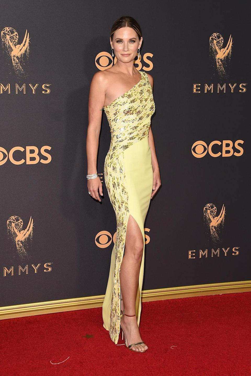 <p>Jennifer Nettles attends the 69th Annual Primetime Emmy Awards at Microsoft Theater on September 17, 2017 in Los Angeles, California. (Photo by J. Merritt/Getty Images) </p>