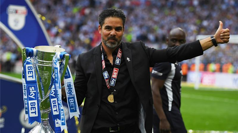 Huddersfield have been celebrating their promotion to the Premier League