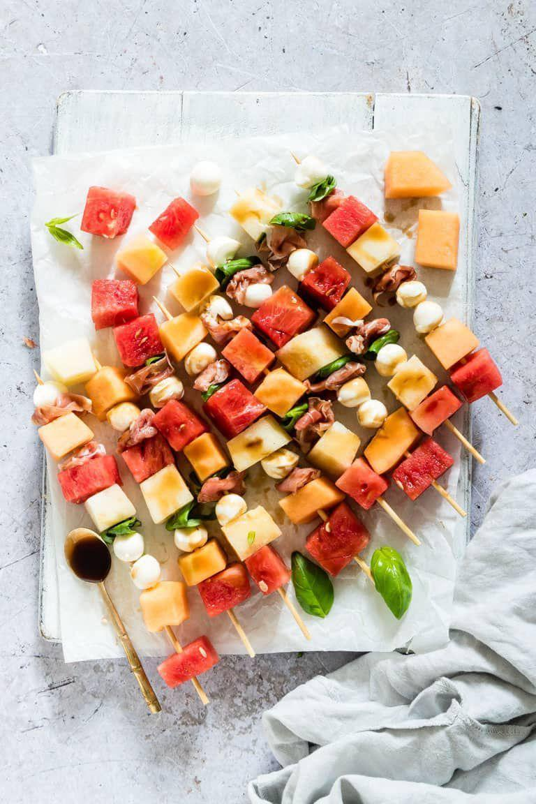 """<p>Who needs a 4th of July charcuterie board when you can stick your meats, cheeses, <em>and</em> watermelon on skewers? </p><p><strong>Get the recipe at <a href=""""https://recipesfromapantry.com/watermelon-skewers-appetizers/"""" rel=""""nofollow noopener"""" target=""""_blank"""" data-ylk=""""slk:Recipes From a Pantry"""" class=""""link rapid-noclick-resp"""">Recipes From a Pantry</a>.</strong> </p>"""