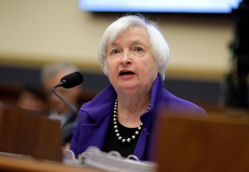 "Federal Reserve Chairman Janet Yellen delivers the semi-annual testimony on the ""Federal Reserve's Supervision and Regulation of the Financial System"" before the House Financial Services Committee in Washington, U.S., September 28, 2016. REUTERS/Joshua Roberts"