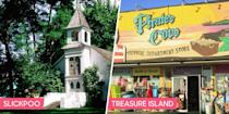 <p>What's in a name? For a town, quite a bit. A beautiful-sounding name like Savannah or Palm Beach naturally inspires curiosity. But then again, so does an odd name. We dare you not to be curious about the town of Slickpoo. </p>