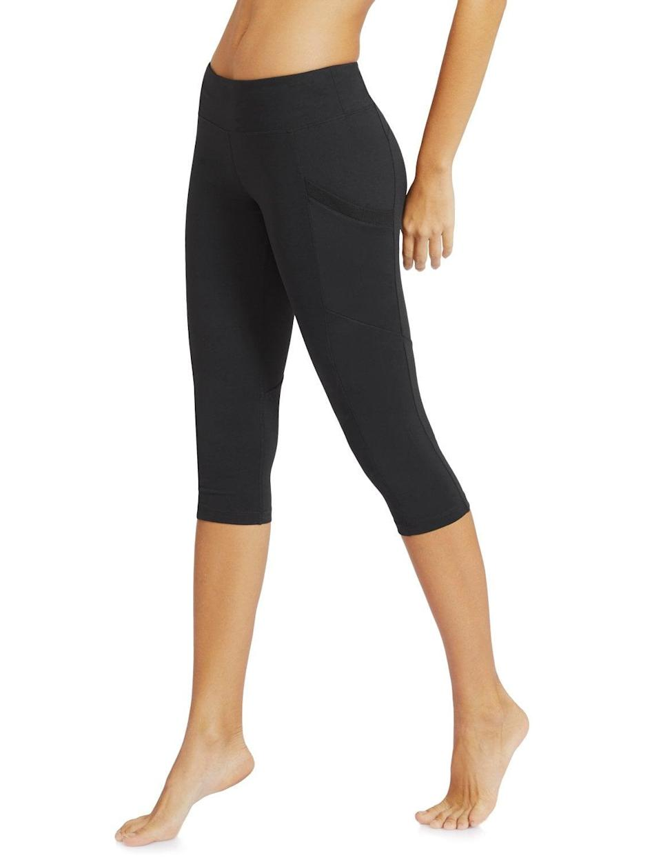 <p>If you're looking for a short-length choice, try these popular <span>Baleaf Workout Capris Leggings </span> ($22).</p>