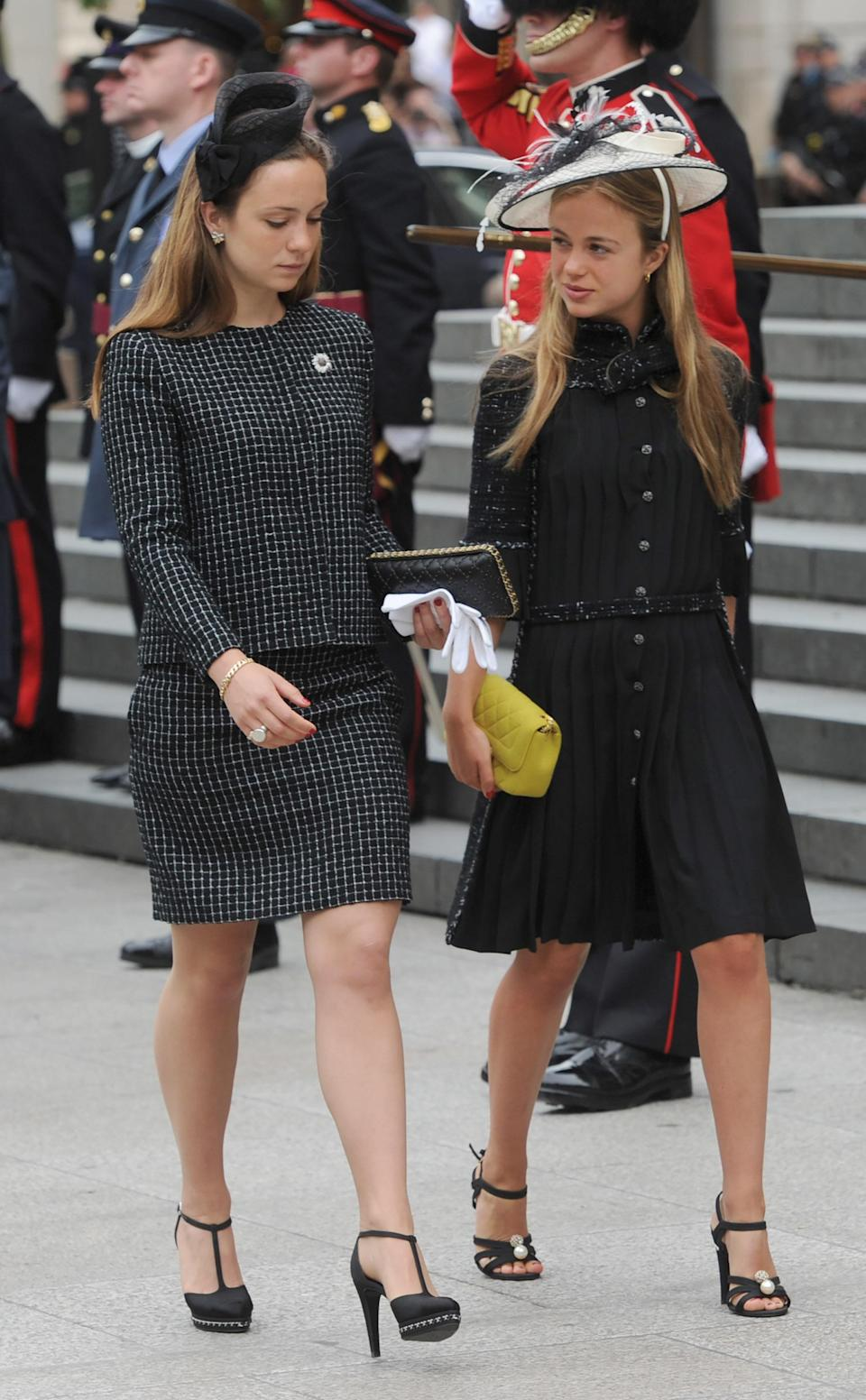 <p>Lady Amelia Windsor, daughter of George Windsor, Earl of St Andrews, wearing a Chanel dress in 2016 [Photo: Getty] </p>