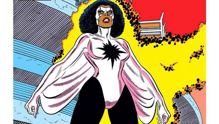 Photon as she appears in the comic books (Image: Marvel Comics)