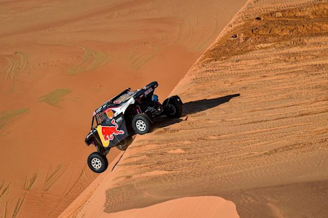 "#409 Red Bull Off-Road Team USA OT3: Blade Hildebrand, Francois Cazalet <span class=""copyright"">A.S.O. </span>"