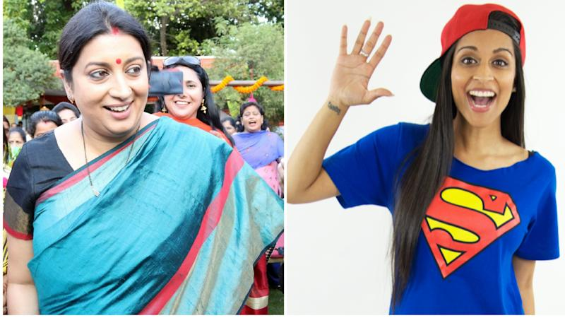 Smriti Irani Baffled As Her 'Bawse' 13-Yr-Old Channels Lilly Singh