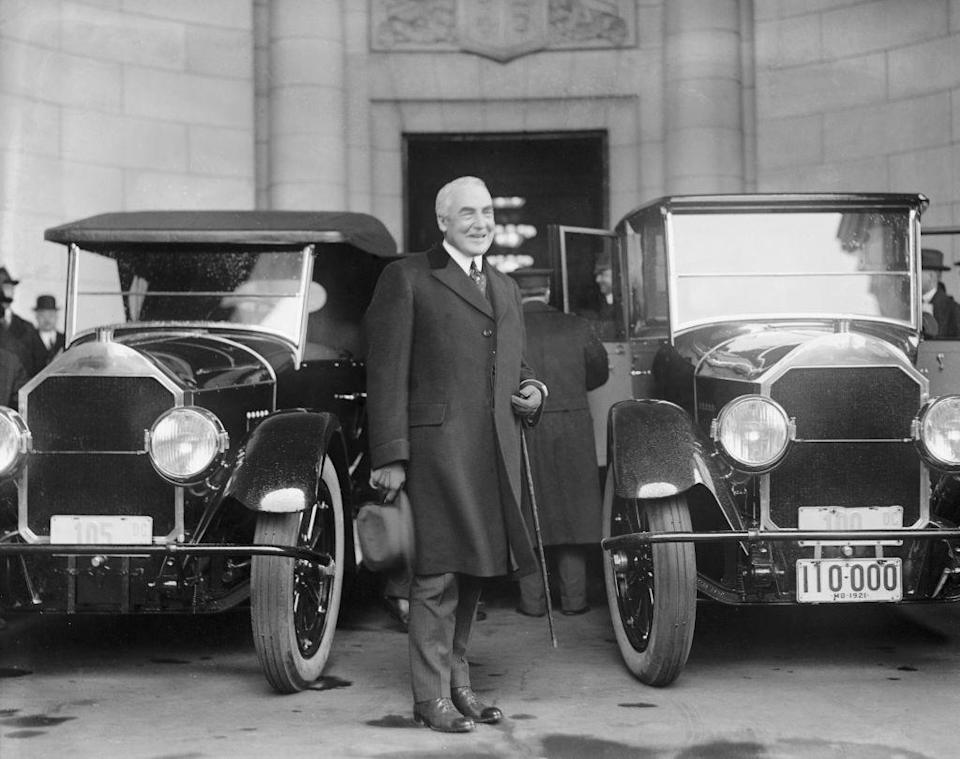 """<p>When Warren Harding was named President-elect, his <a href=""""https://www.smithsonianmag.com/smithsonian-institution/when-was-first-inaugural-ball-180961863/"""" rel=""""nofollow noopener"""" target=""""_blank"""" data-ylk=""""slk:supporters urged him"""" class=""""link rapid-noclick-resp"""">supporters urged him</a> not to have an inaugural ball in response to what was happening in the country. Instead, a charity ball was thrown in his honor by Evalyn Walsh McLean. The tradition of charity balls continued throughout the Great Depression, with President Hoover and President Roosevelt following suit. </p>"""