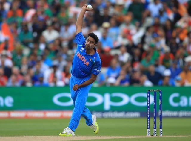 Ravichandran Ashwin planted his front foot over the line on several occasions on Monday (Mike Egerton/PA)