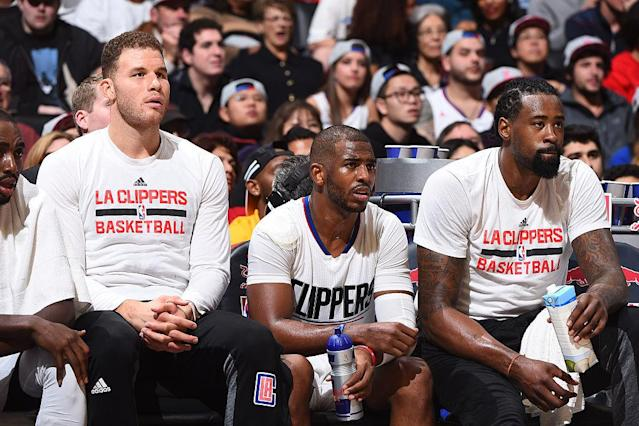 Untimely injuries and epic collapses cost the Lob City Clippers several shots at a conference finals appearance. (Getty Images)
