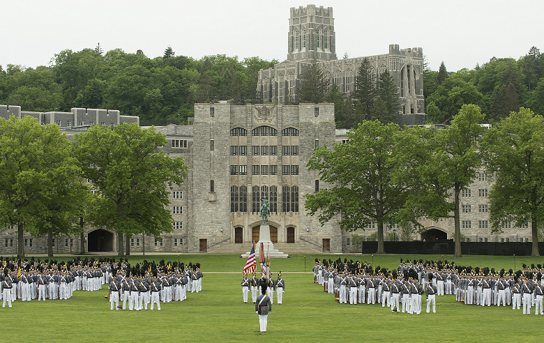 "<p><strong>Established in 1802</strong></p><p><strong>Location: Orange County, New York</strong></p><p>The oldest continuously occupied military post in America, <a href=""https://www.westpoint.edu/about/history-of-west-point"" rel=""nofollow noopener"" target=""_blank"" data-ylk=""slk:West Point"" class=""link rapid-noclick-resp"">West Point</a> dates back to the Revolutionary War, when both sides realized they needed a commanding spot on the west bank of the Hudson River. General George Washington once thought of West Point as the most important strategic position in America. Thaddeus Kosciuszko was picked to design the fortifications in 1778, and soldiers built forts, batteries, and more. </p>"