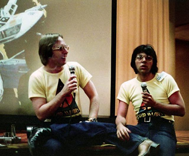 An early 'Star Wars' Comic Con presentation (Photo: geektyrant.com)