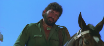 India's most iconic villain bar none, Amjad Khan's Gabbar was a departure from the god-fearing, tilak-sporting dacoits of older Hindi films. Gabbar wore fatigues and personified sadism, much like the dead-eyed outlaw Indio in A Few Dollars More that Salim-Javed may have borrowed from. Amjad delivered unforgettable lines along with laughter that could shake up the ravines of Chambal, and yet he almost didn't play the role because the writers didn't think highly of his voice.