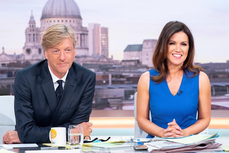 Presenting: Susanna Reid was joined by Richard Madeley on Tuesday's show (Ken McKay/ITV/Rex)
