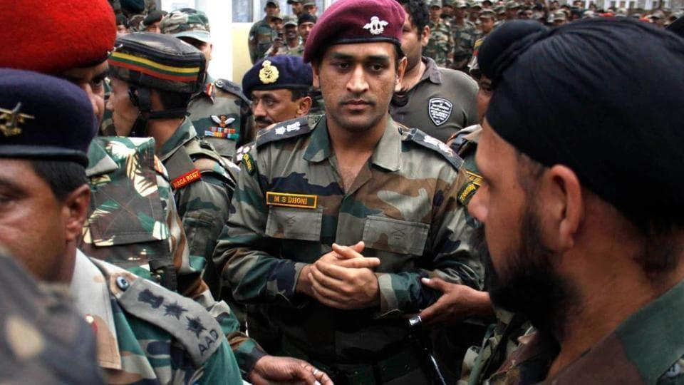 Details of MS Dhoni's Kashmir stint with Indian Army revealed | Cricket - Hindustan Times