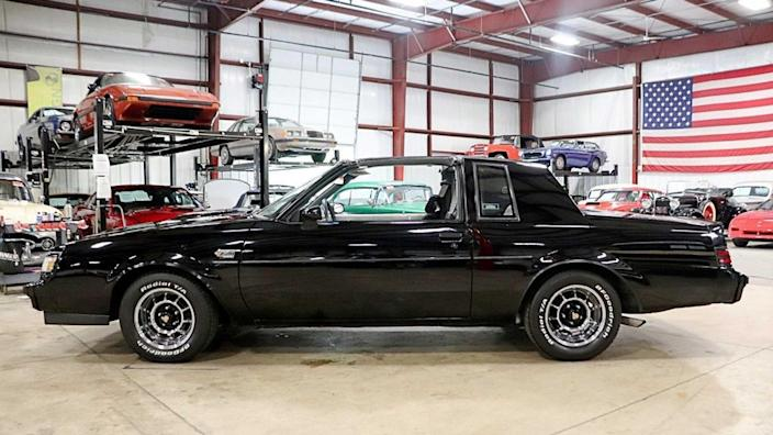 Driver-Quality 1987 Buick Grand National Has 71k Miles