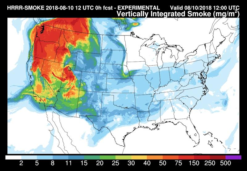 Smoke From California Wildfires Is Reaching the East Coast. Here's What That Means for the Air Near You