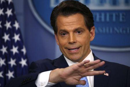 New White House Communications Director Scaramucci addresses daily briefing at the White House in Washington