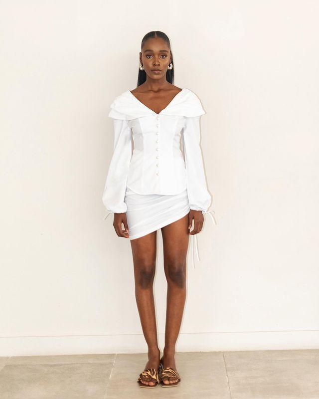 """<p>Who: Teni Sagoe, Aba Sagoe and Tiwa Sagoe</p><p>What: 'Clan est. 2011 is a premium ready-to-wear brand which specialises in the needle-crafting of minimalist and distinct cosmopolitan pieces through the use of authentic techniques.'</p><p><a class=""""link rapid-noclick-resp"""" href=""""https://www.clanrtw.com/shop"""" rel=""""nofollow noopener"""" target=""""_blank"""" data-ylk=""""slk:SHOP CLAN RTW NOW"""">SHOP CLAN RTW NOW</a></p><p><a href=""""https://www.instagram.com/p/CAC9kDVHxh7/"""" rel=""""nofollow noopener"""" target=""""_blank"""" data-ylk=""""slk:See the original post on Instagram"""" class=""""link rapid-noclick-resp"""">See the original post on Instagram</a></p>"""