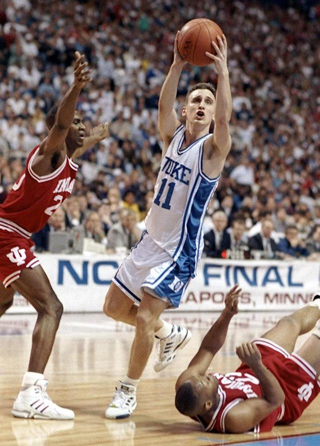 <strong>2. Bobby Hurley</strong> <br><strong>Why was he hated?</strong> Well, that hairdo, for starters. Plus, he won all the time and he played next to...