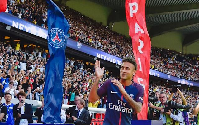 Paris Saint-Germain's smashed the world-record transfer fee in 2017 to sign Neymar from Barcelona (AFP Photo/ALAIN JOCARD)