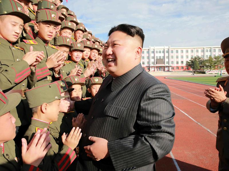Kim Jong-un and Trump have exchanged threats in recent months: REUTERS/KCNA
