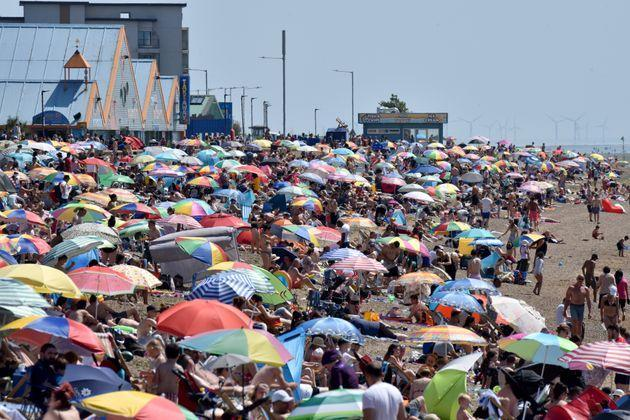 Heatwaves are becoming more frequent in the UK (Photo: John Keeble via Getty Images)