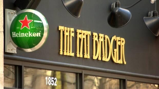 The Fat Badger is one of the places impacted by public health orders closing bars, restaurants and event centres starting on March 28.  (CBC - image credit)