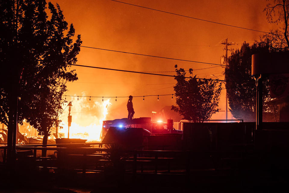 More than 500,000 residents in Oregon have been forced to evacuate due to the wildfires. Source: AP