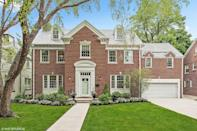 """<p>The traditional brick home where Molly Ringwald's character, Sam, dreaded her 16th birthday sits on a tree-lined street in suburb just 30 minutes outside of Chicago, and it has been on and off the market over the past few years but sold for more than <a href=""""https://www.chicagotribune.com/classified/realestate/elitestreet/ct-re-elite-street-sixteen-candles-evanston-20180706-story.html"""" rel=""""nofollow noopener"""" target=""""_blank"""" data-ylk=""""slk:$1 million in 2018"""" class=""""link rapid-noclick-resp"""">$1 million in 2018</a>. </p><p> 3022 Payne St Evanston, IL 60201</p>"""