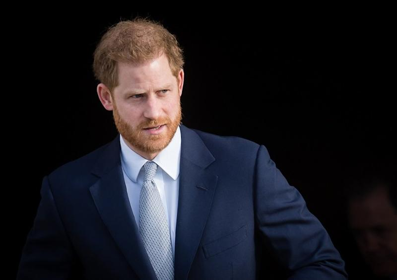 """Prince Harry said he feels """"great sadness"""" as he spoke out for the first time since stepping back from the royal family"""
