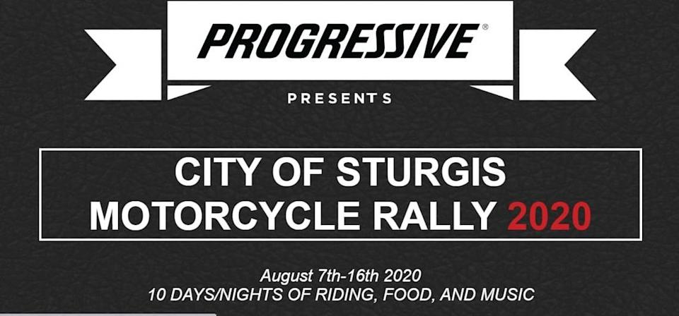 Despite concerns that the 80th annual motorcycle rally in Sturgis, South Dakota, could become a super-spreader event for the coronavirus, corporate sponsors are sticking with the event than runs from Aug. 7-16.