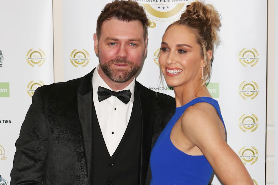 Brian McFadden is engaged to PE teacher Danielle Parkinson after three years of dating. (PA)